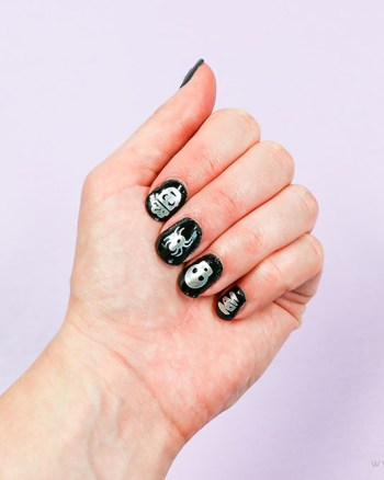 Halloween Nail Art - Printable Crush