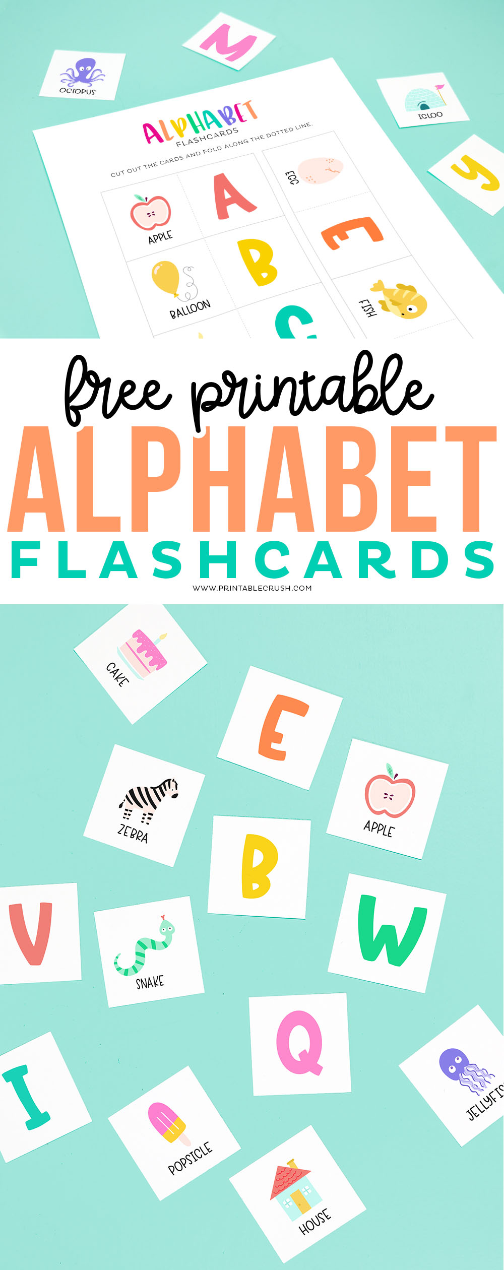 Download these free printable abc flashcards - Printable Crush