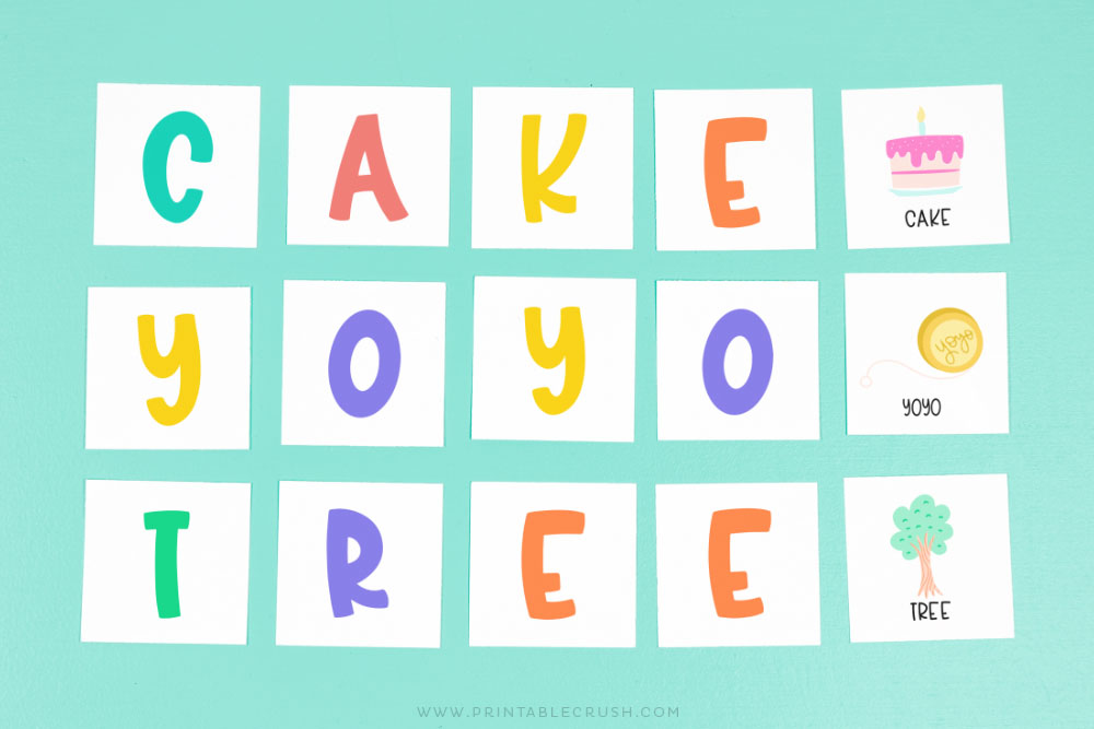Learn letters with this preschool activity - Printable Crush