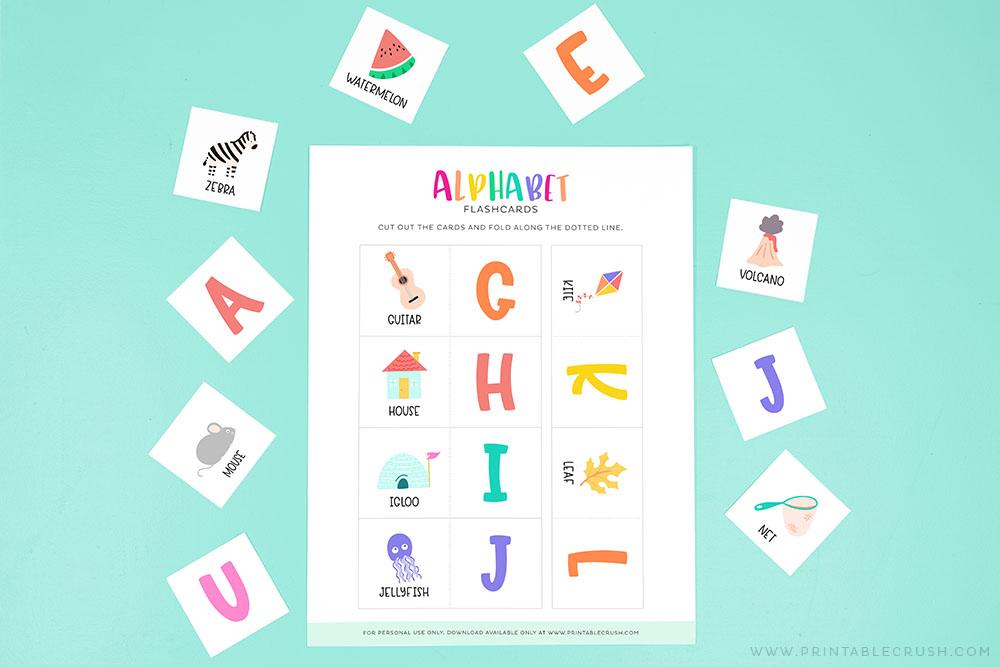 Free ABC Flashcards - Printable Crush