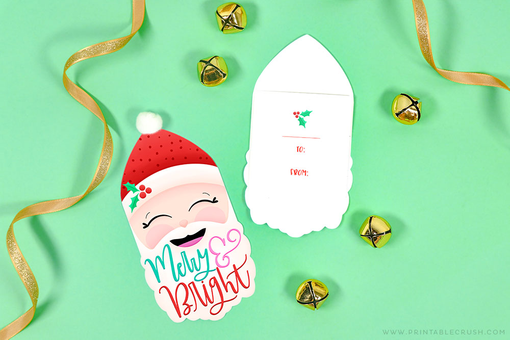 Free Santa Gift Tags - Printable Crush