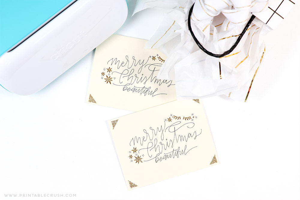 Cricut Joy Insert Cards - Cricut Joy Christmas Cards - Cricut Cards - DIY Christmas Cards - Printable Crush