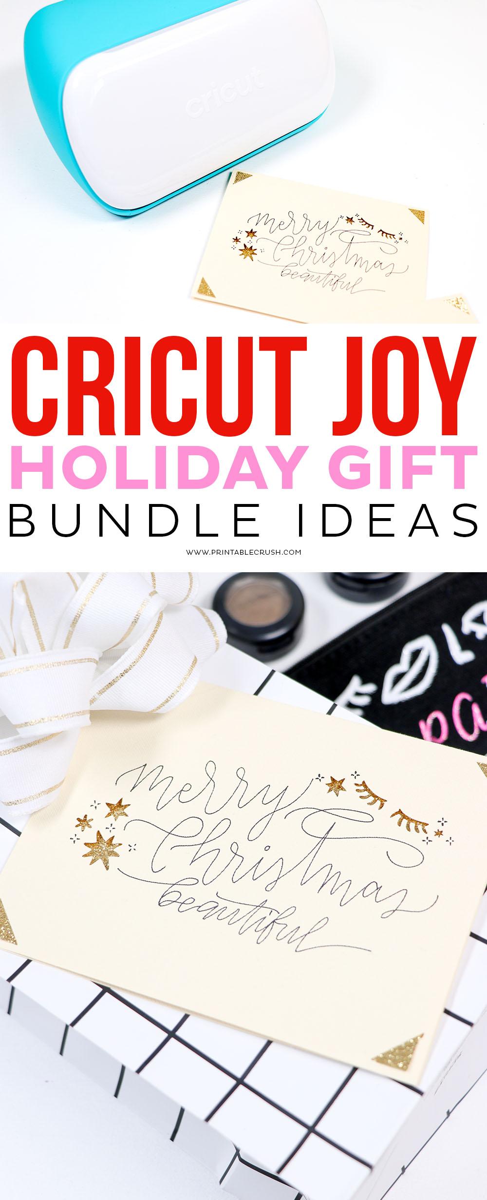Holiday Cricut Gifts - Gift Guide - Cricut Joy Gift Guide - Printable Crush