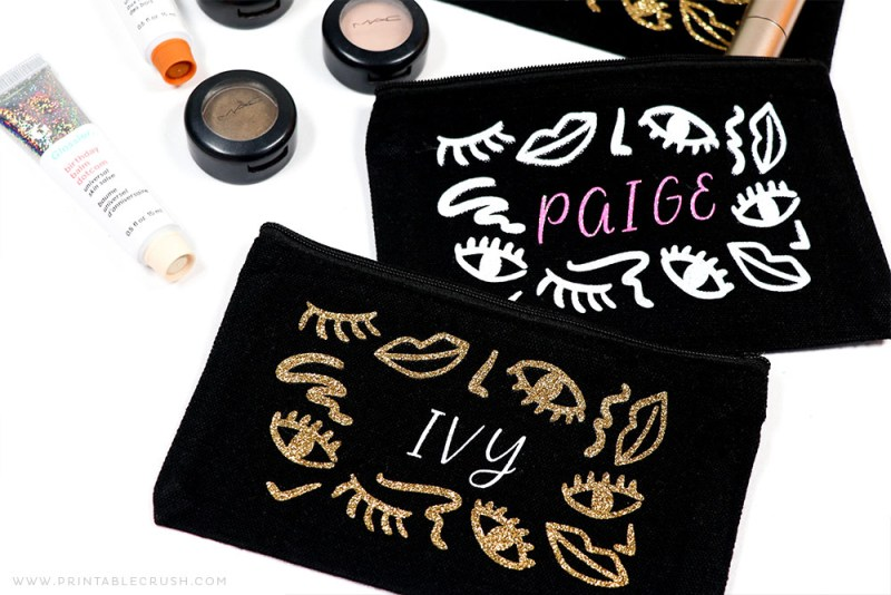 DIY Makeup Bag – Use the Cricut Joy to Make this Holiday Gift Idea!
