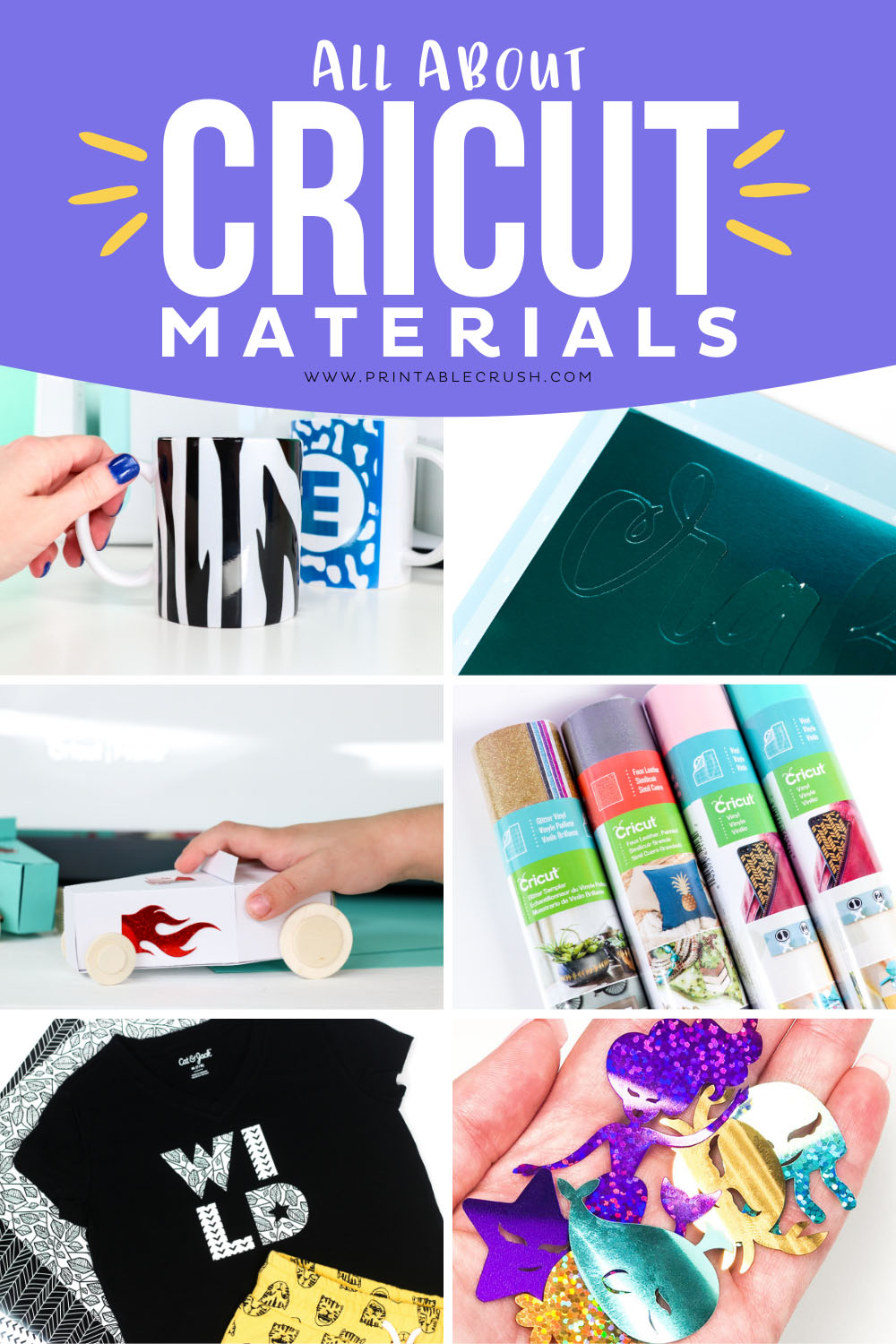 Cricut Materials FAQ - Learn everything you need to know about Cricut Materials - Printable Crush