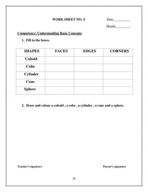 small resolution of Basic Math Shapes Worksheets For Kids   PrintablEducation