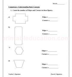 Basic Math Shapes Worksheets For Kids   PrintablEducation [ 2200 x 1700 Pixel ]