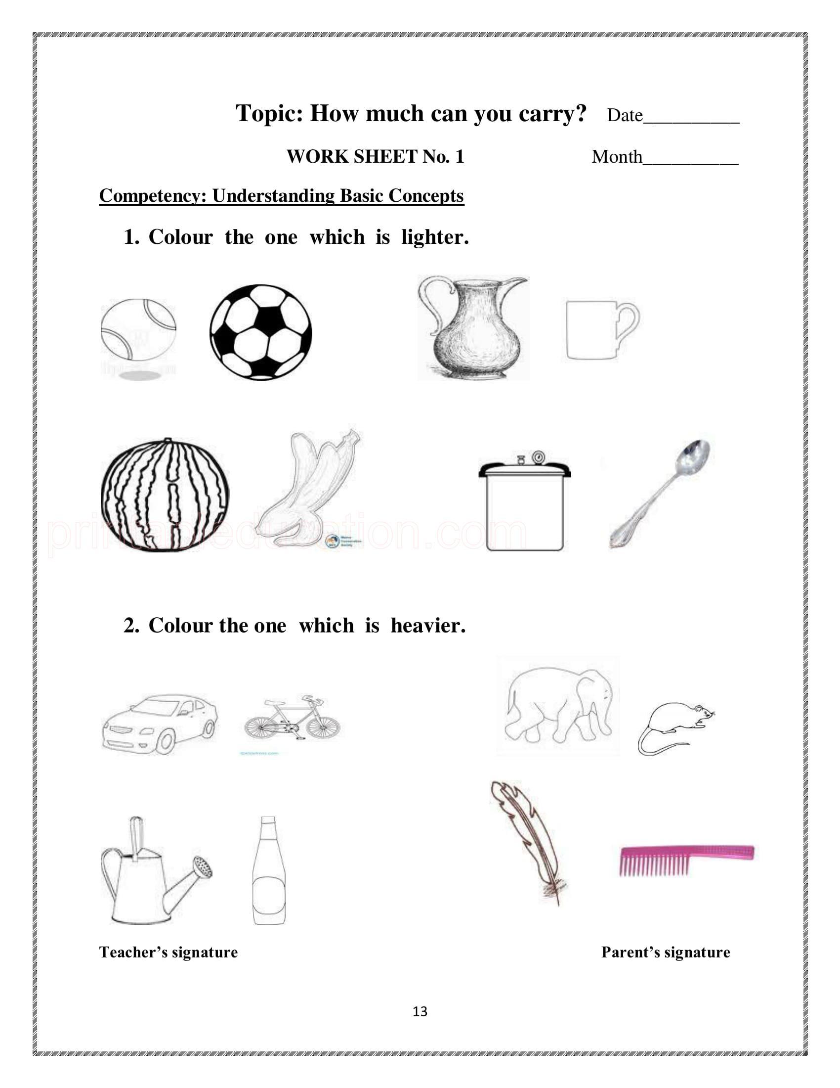 Math Practice Worksheets For 2nd Grade