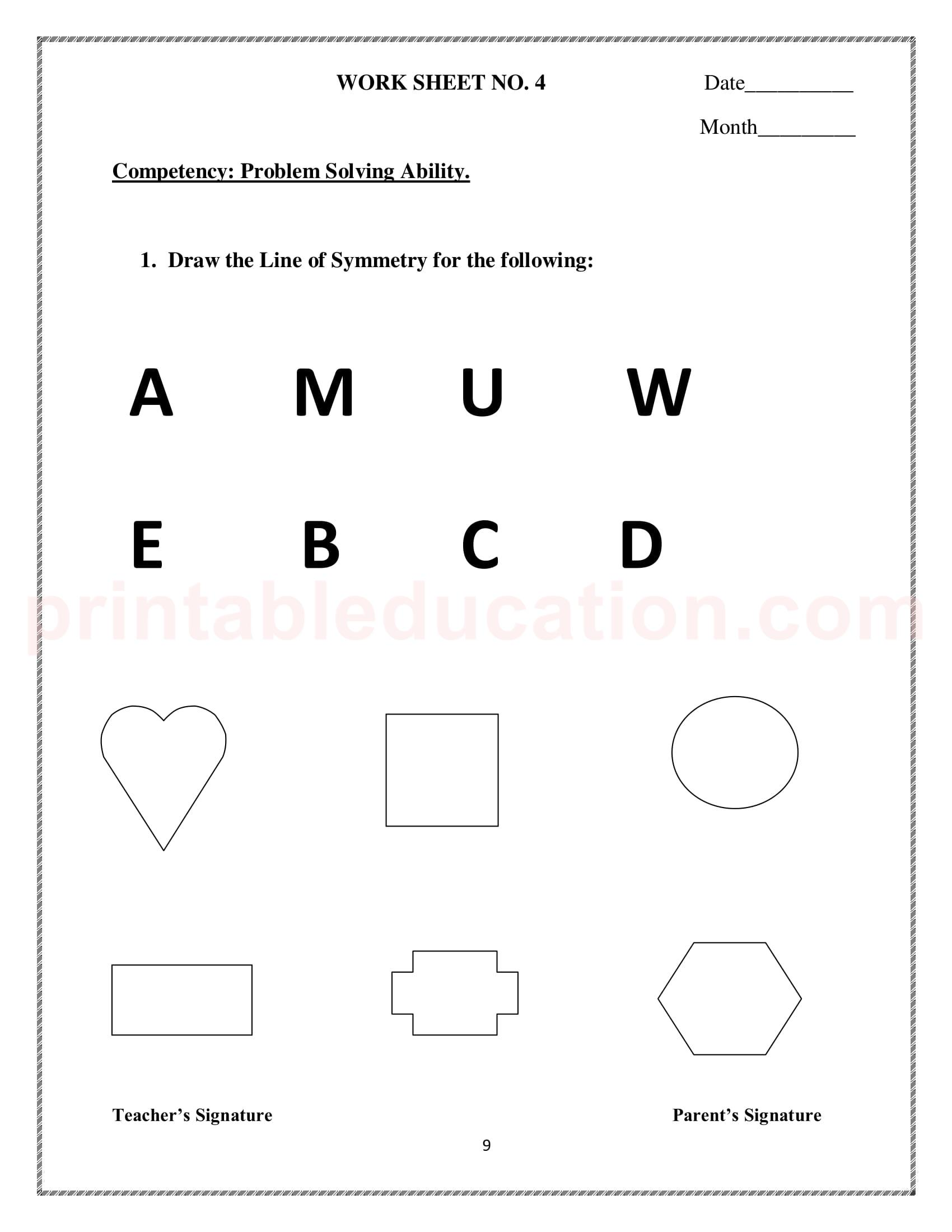 hight resolution of Symmetry Worksheet 3rd   Printable Worksheets and Activities for Teachers