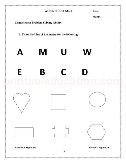 small resolution of Symmetry Worksheet 3rd   Printable Worksheets and Activities for Teachers