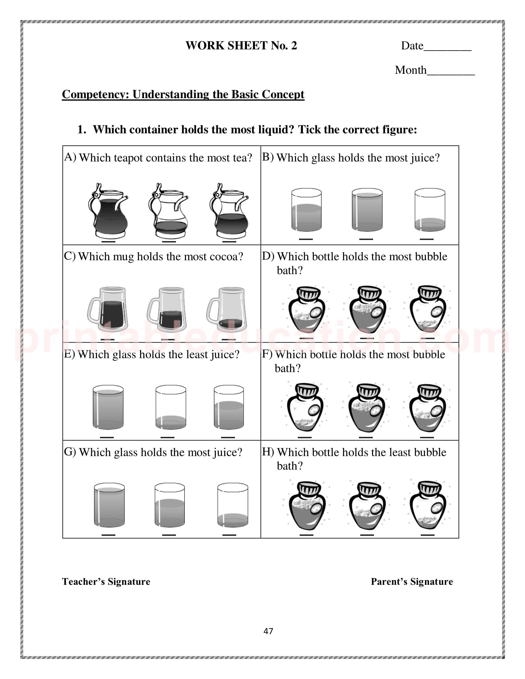 hight resolution of Mathematics Worksheets For Class 3 Kids   PrintablEducation