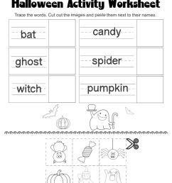 4 Best Halloween Worksheets Printables - printablee.com [ 1080 x 872 Pixel ]