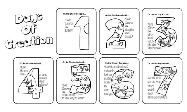 25 Best Free Printable Creation Activity Pages - printablee.com
