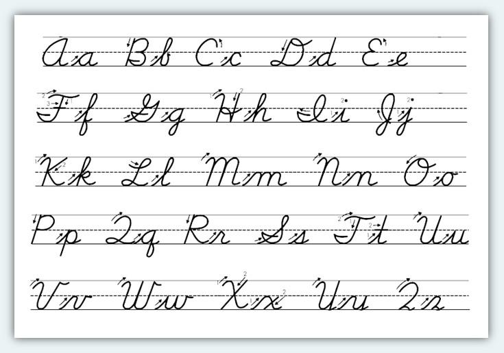 5 Best Images Of Printable Cursive Handwriting Practice Sheets  Cursive Writing Worksheets