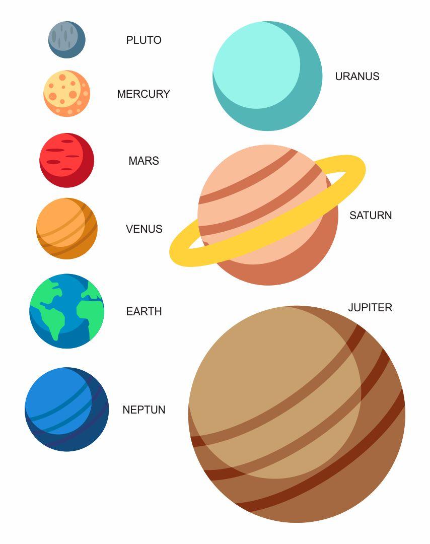 Printable Planet Pictures : printable, planet, pictures, Printable, Planet, Printablee.com