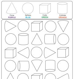 5 Best Printable 3D Shapes Kindergarten - printablee.com [ 1920 x 1500 Pixel ]