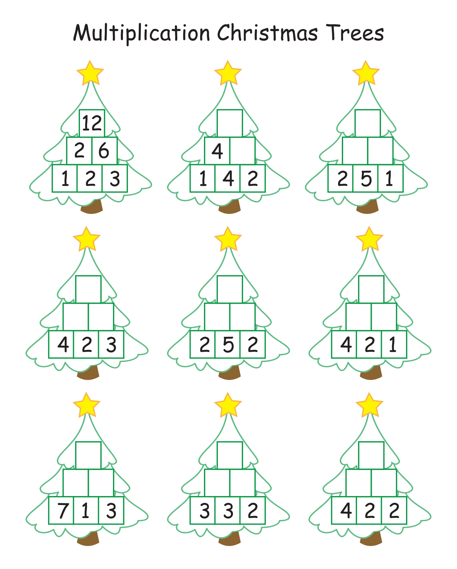 hight resolution of 4 Best Printable Worksheets For 1st Grade Christmas Activities -  printablee.com