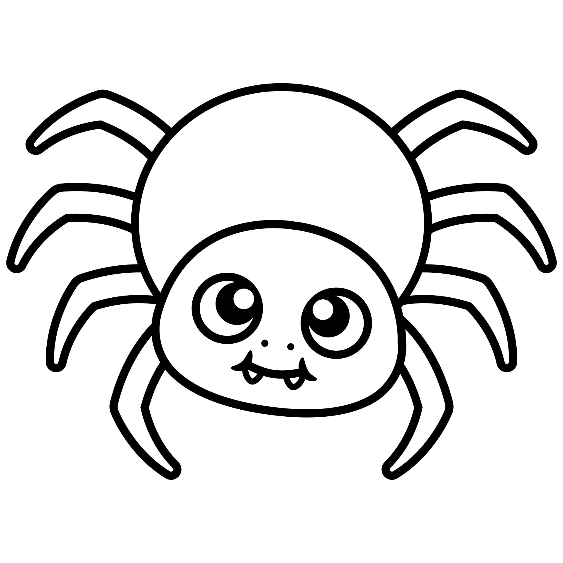 5 Best Printable Halloween Spider Coloring Pages