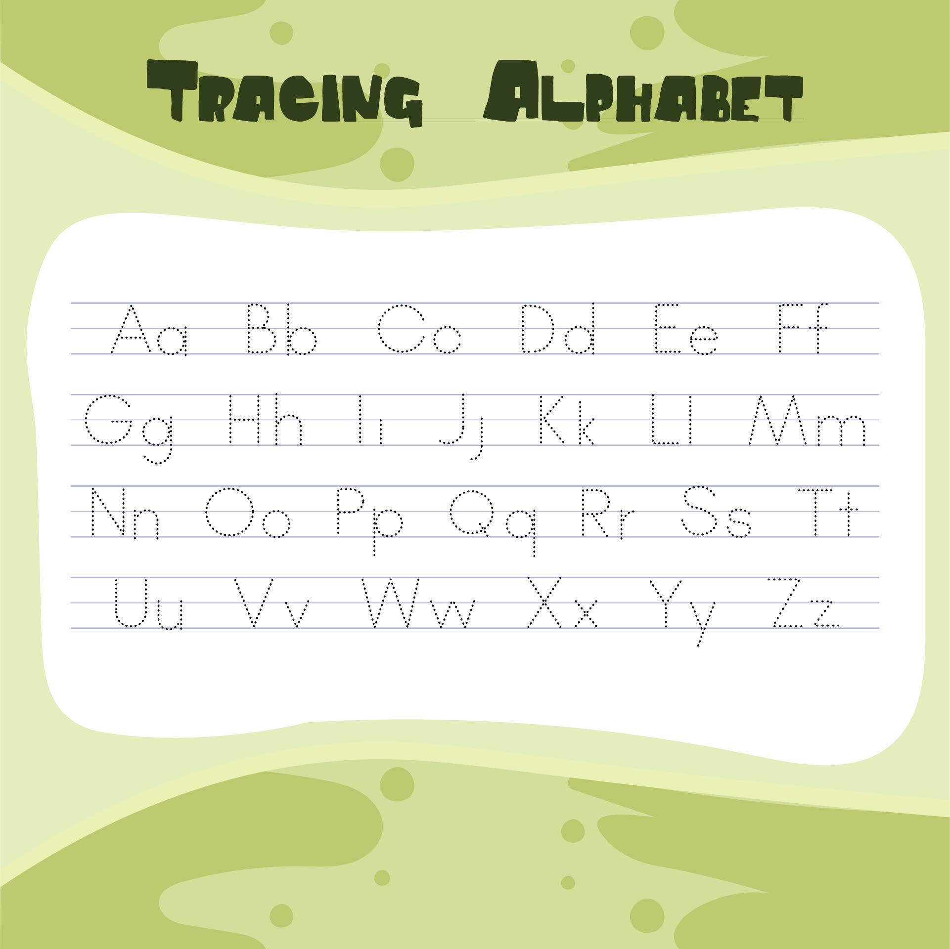 6 Best Free Abc Worksheets Preschool Printables