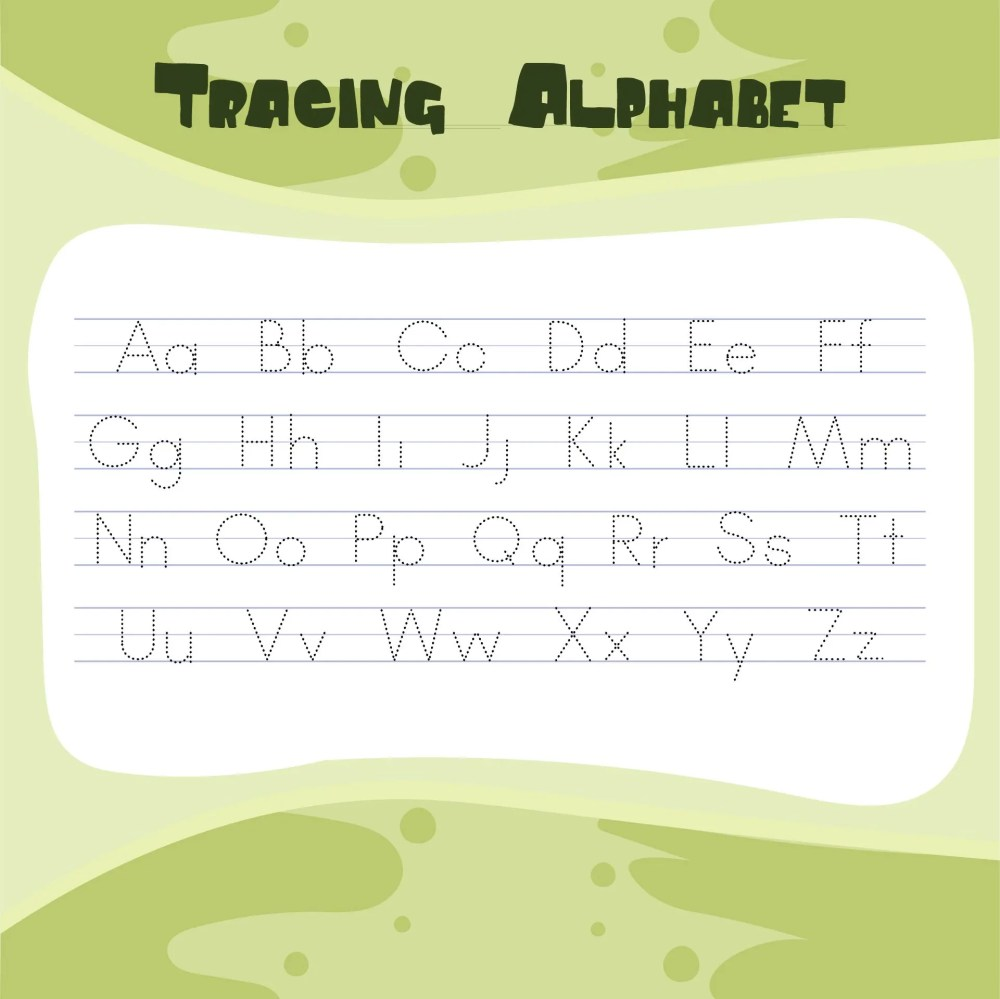 medium resolution of 6 Best Free ABC Worksheets Preschool Printables - printablee.com