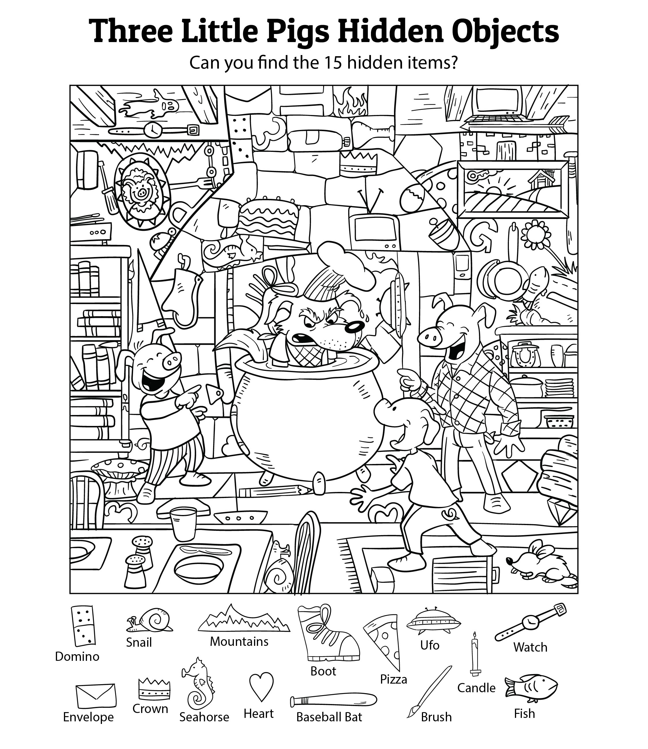 6 Best Hidden Object Printables