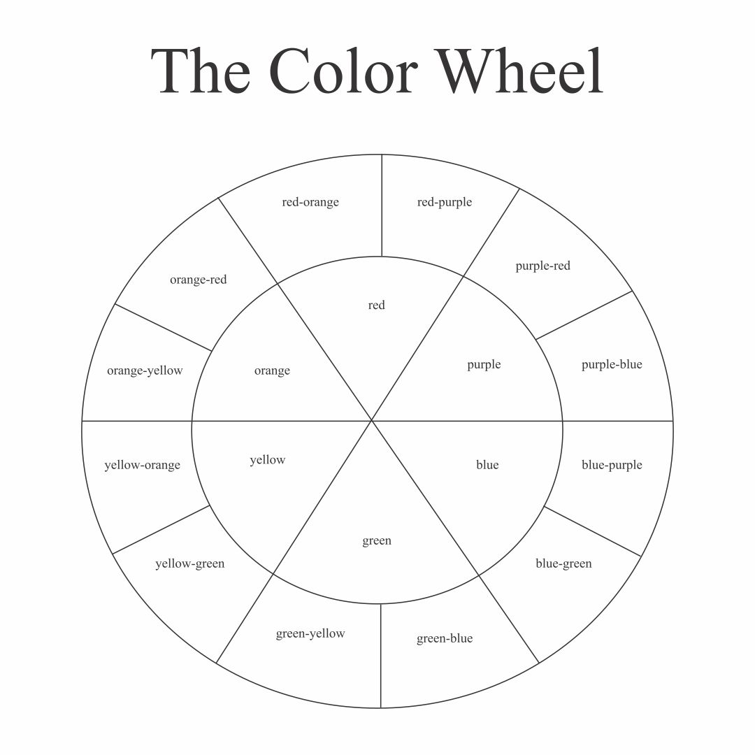 6 Best Color Wheel Printable For Students