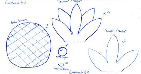 pineapple template printable printablee stencil via favourites