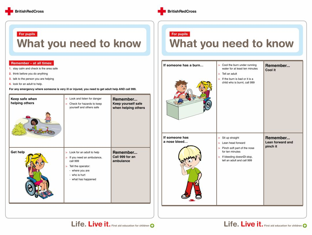 8 Best Printable First Aid Poster