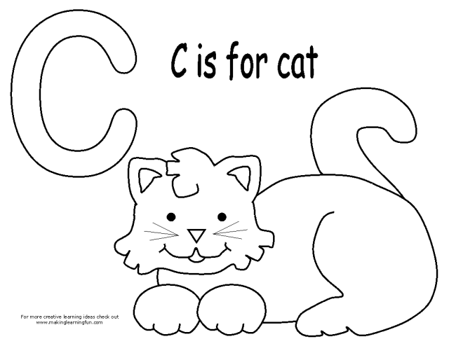 Drawing Cat #17 (Animals) – Printable coloring pages