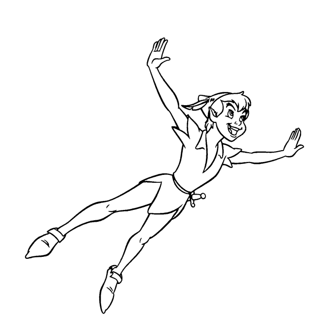 Peter Pan #30 (Animation Movies) – Printable coloring pages