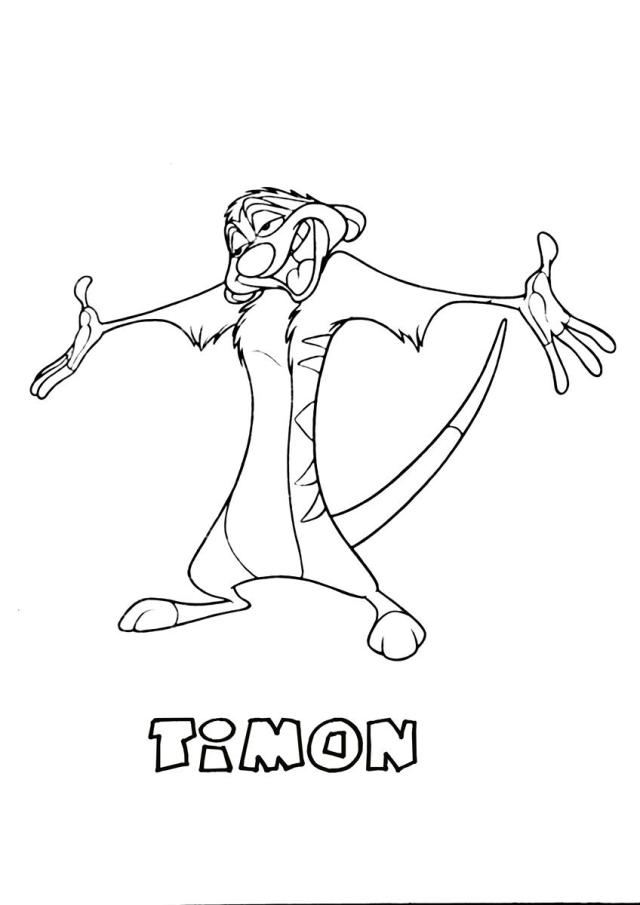 The Lion King #28 (Animation Movies) – Printable coloring pages