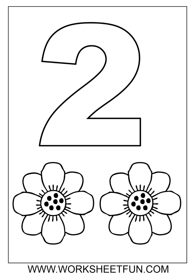 Drawing Numbers #26 (Educational) – Printable coloring pages