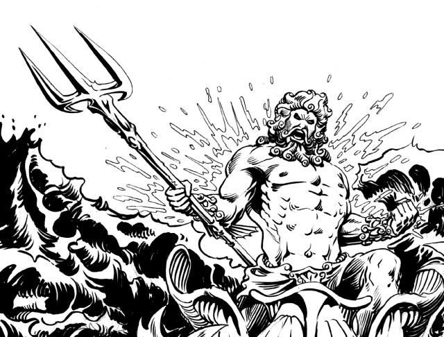 Drawing Greek Mythology #23 (Gods and Goddesses) – Printable