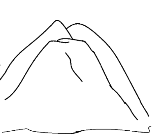 Mountain Nature Printable Coloring Pages