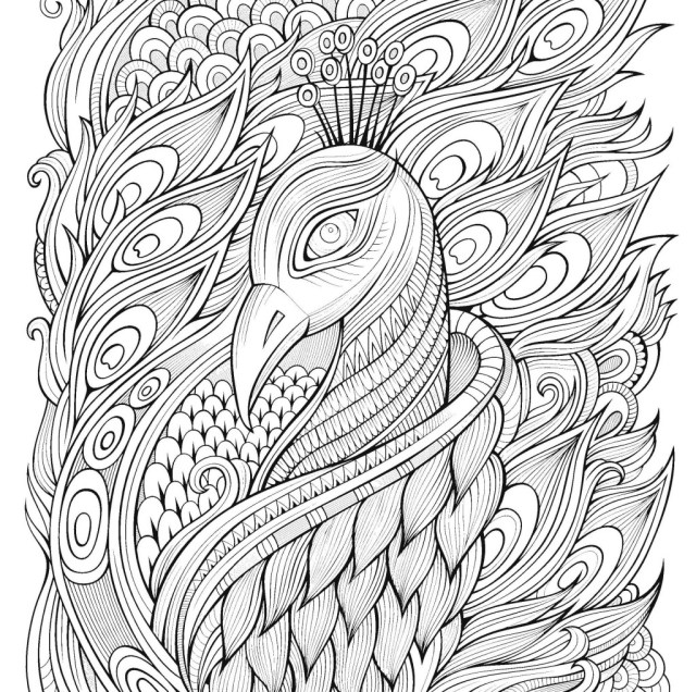 Drawings Anti-stress (Relaxation) – Printable coloring pages