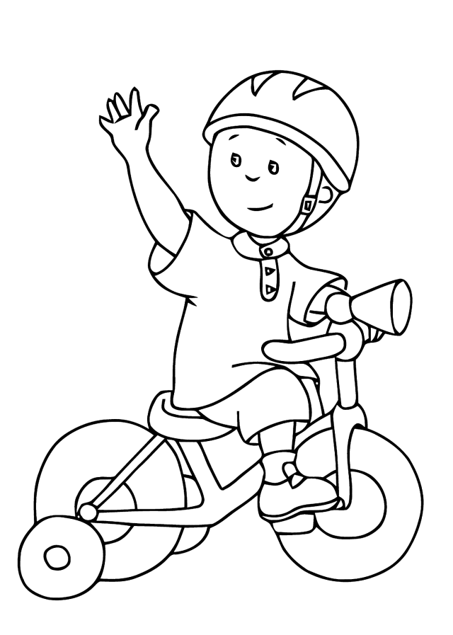 Bike / Bicycle #18 (Transportation) – Printable coloring pages
