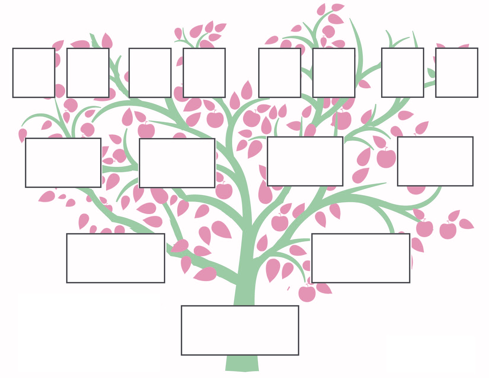 Family Tree Printable Calendar Posters Images