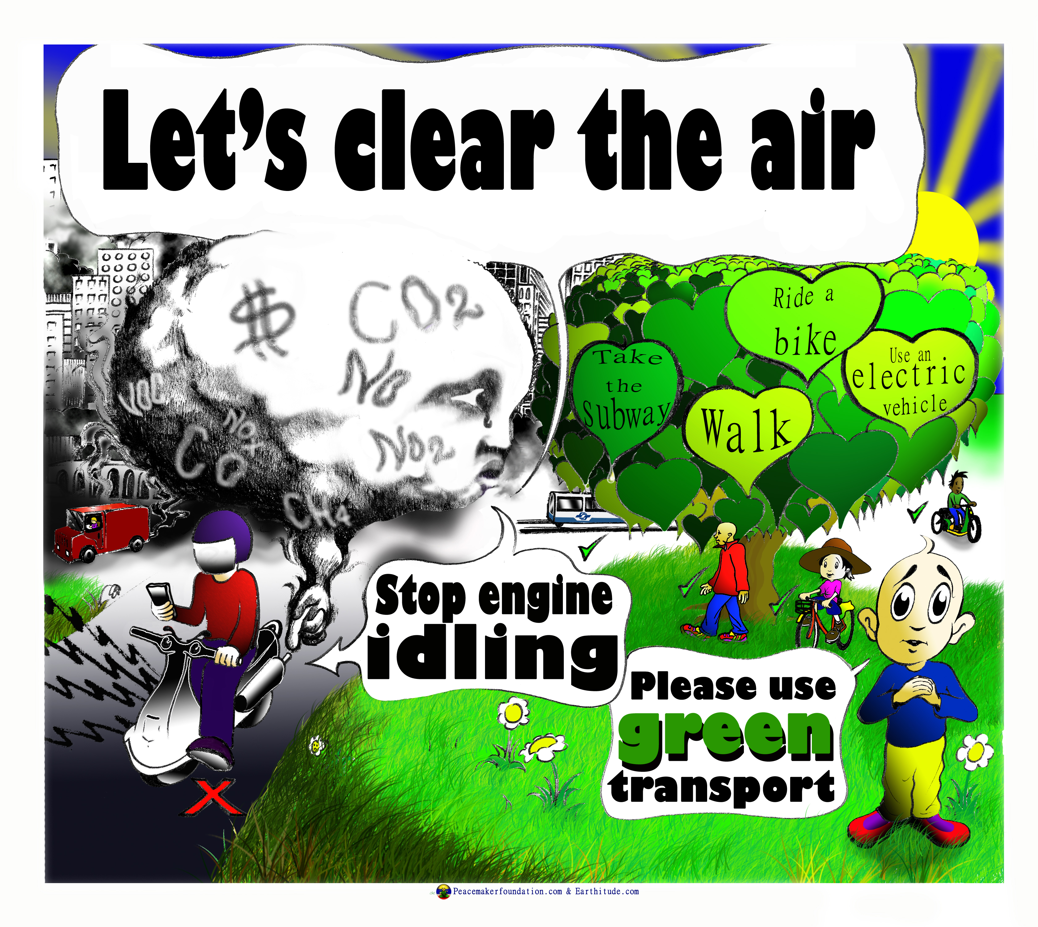 Poster Of Air Pollution