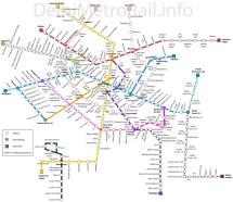 Delhi Metro Map 2019 - Year of Clean Water