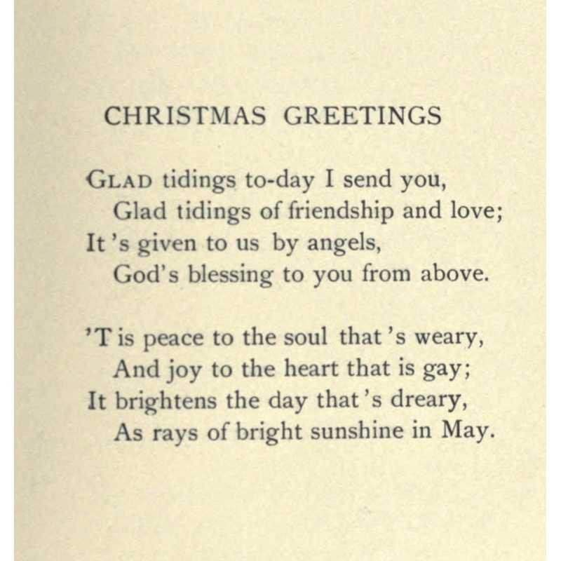 Public Domain Image DVD Christmas Poems Amp Pictures With