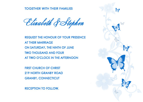 Erfly Wedding Invitation Kits Invitations