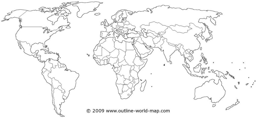 Coloring Pages : Labeled Printable World Map Coloring Page