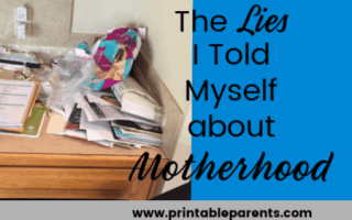 featured-image-of-messy-desk-the-lies-i-told-myself-about-motherhood