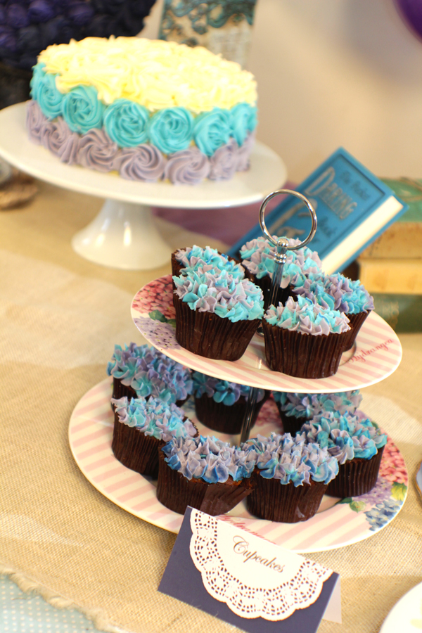 This is an image of cupcakes.