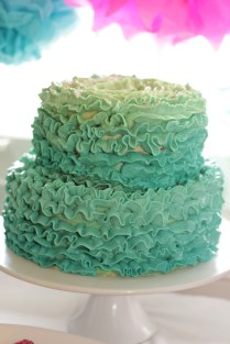Two Tiered Hombre Cake