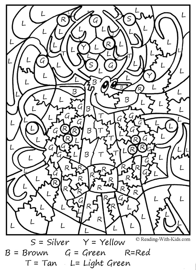 math christmas coloring pages printable - christmas printables