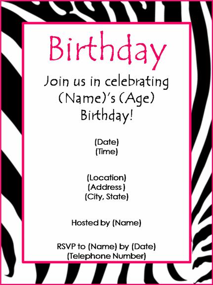 How To Make Birthday Invitations On Microsoft Word 2003 Wedding – How to Make Birthday Invitations on Microsoft Word