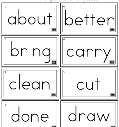 Third Grade Dolch Sight Words Ring Book   A to Z Teacher Stuff Printable  Pages and Worksheets [ 1844 x 1416 Pixel ]