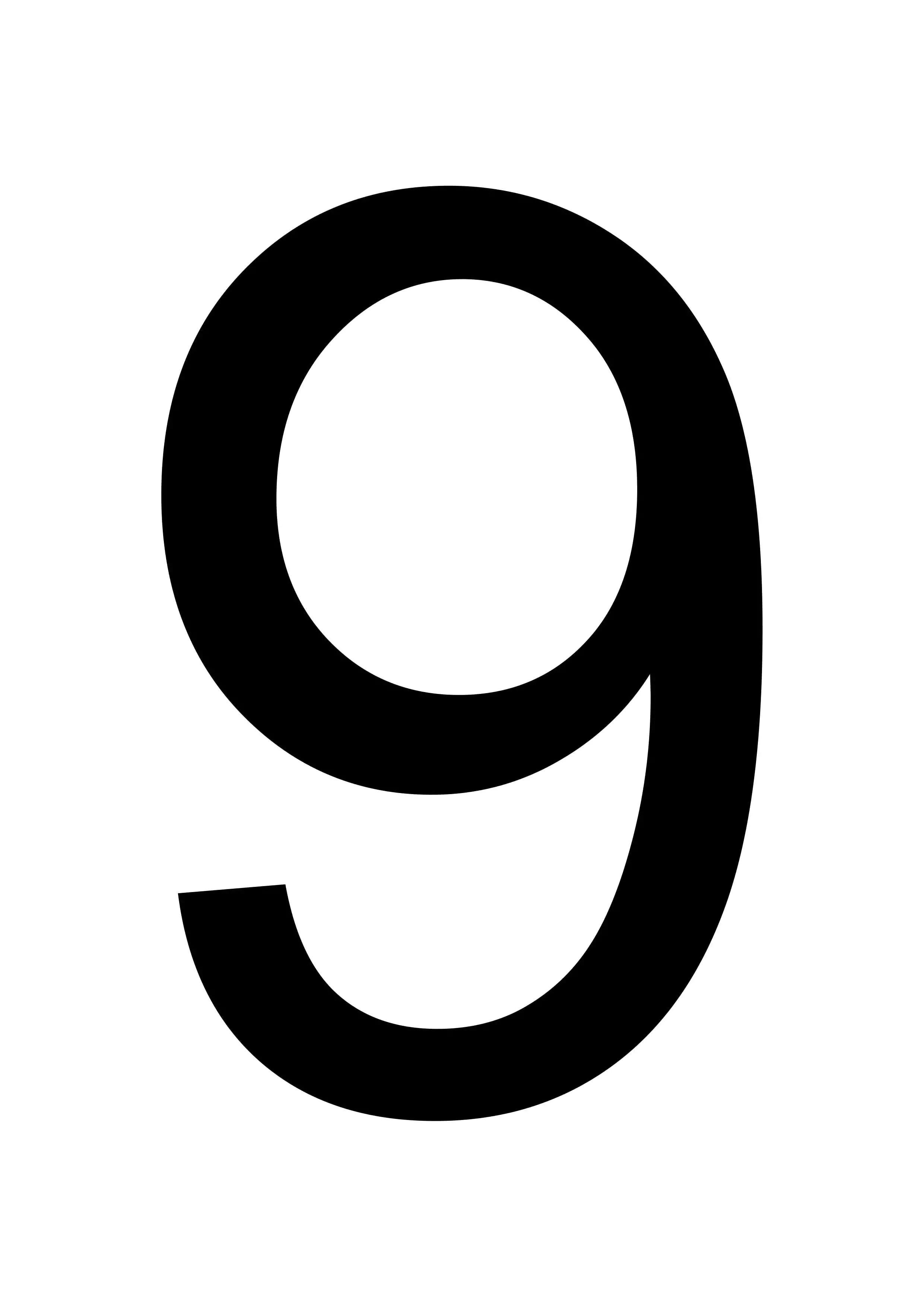 Top Printable Number 9