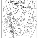 Pixie hollow coloring pages